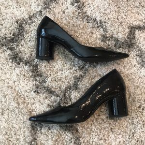 Zara Patent Leather Pointed Toe Pumps